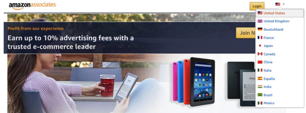 affiliate amazon india
