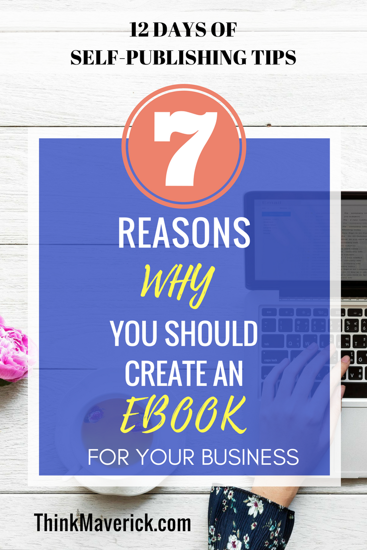 7reasons why you should create an eBook for your business