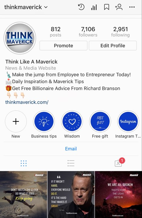 business insurance instagram