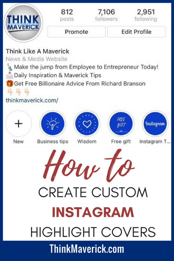 How to Create Custom Instagram Highlight Covers in less than