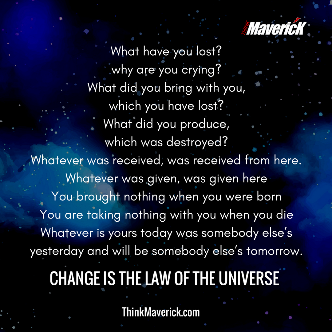 Image of: Lord Krishna Change Is The Law Of The Universe You Can Be Millionaire Or Pauper In An Instant Mastering Yoga And Meditation Top 10 Inspirational Bhagavad Gita Quotes For Entrepreneurs