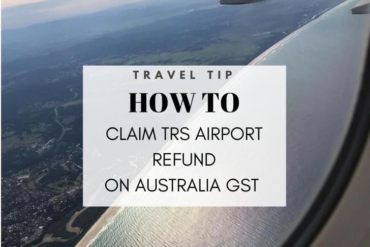 how to get gst refund in australia