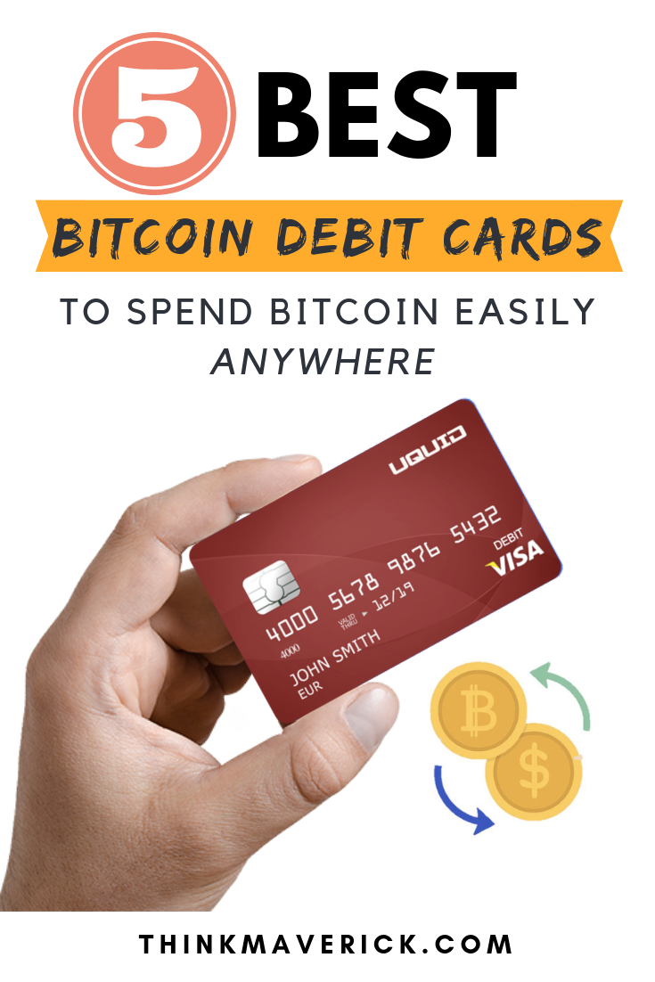 5 Best Bitcoin Debit Cards: Review and Comparison
