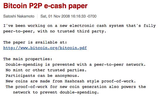 A Bitcoin 10. születésnapja: Helyes volt a Nakamoto White Paper?