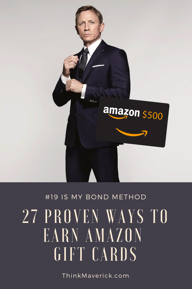 28 Proven ways to earn Amazon Gift Cards every month - UPDATED