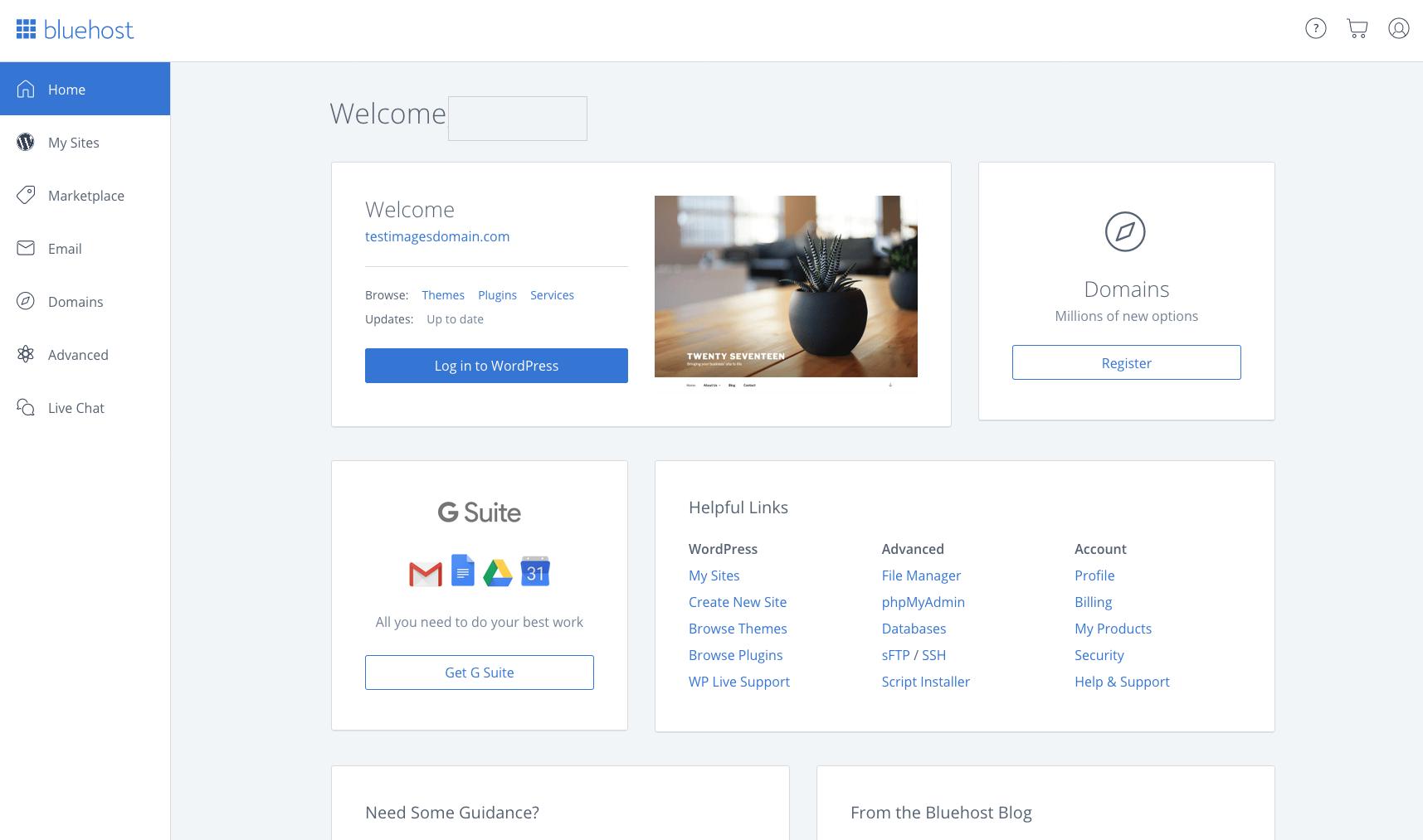 Come avviare un blog WordPress su Bluehost.  thinkmaverick