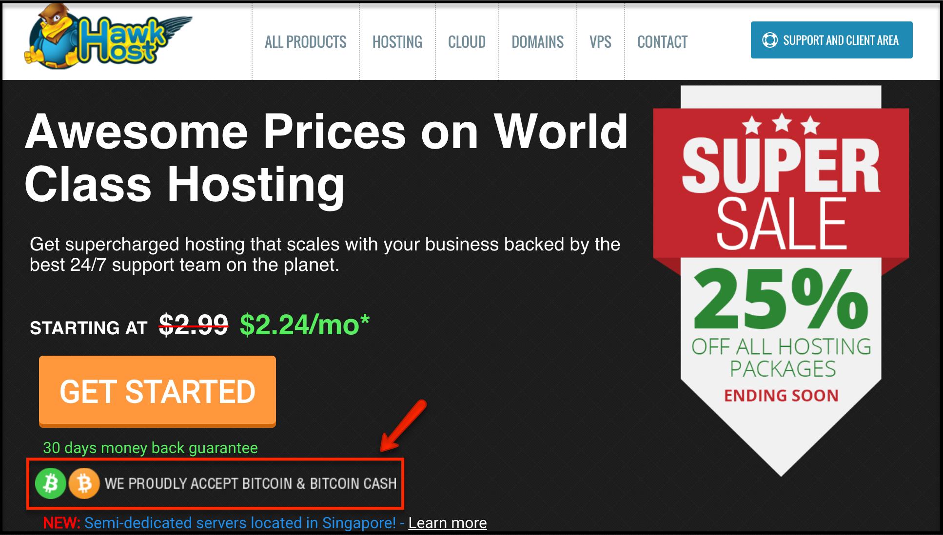 Pirkti VPS su Bitcoin