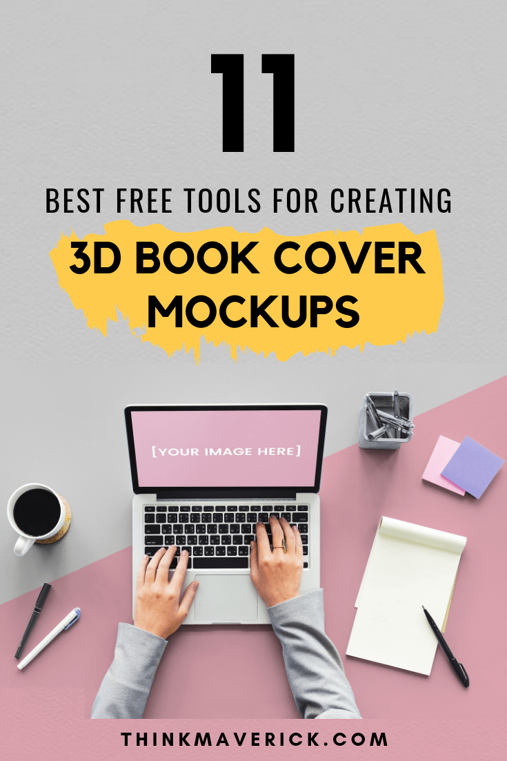 11 Best FREE Tools for Creating Your 3D Book Cover Mockups