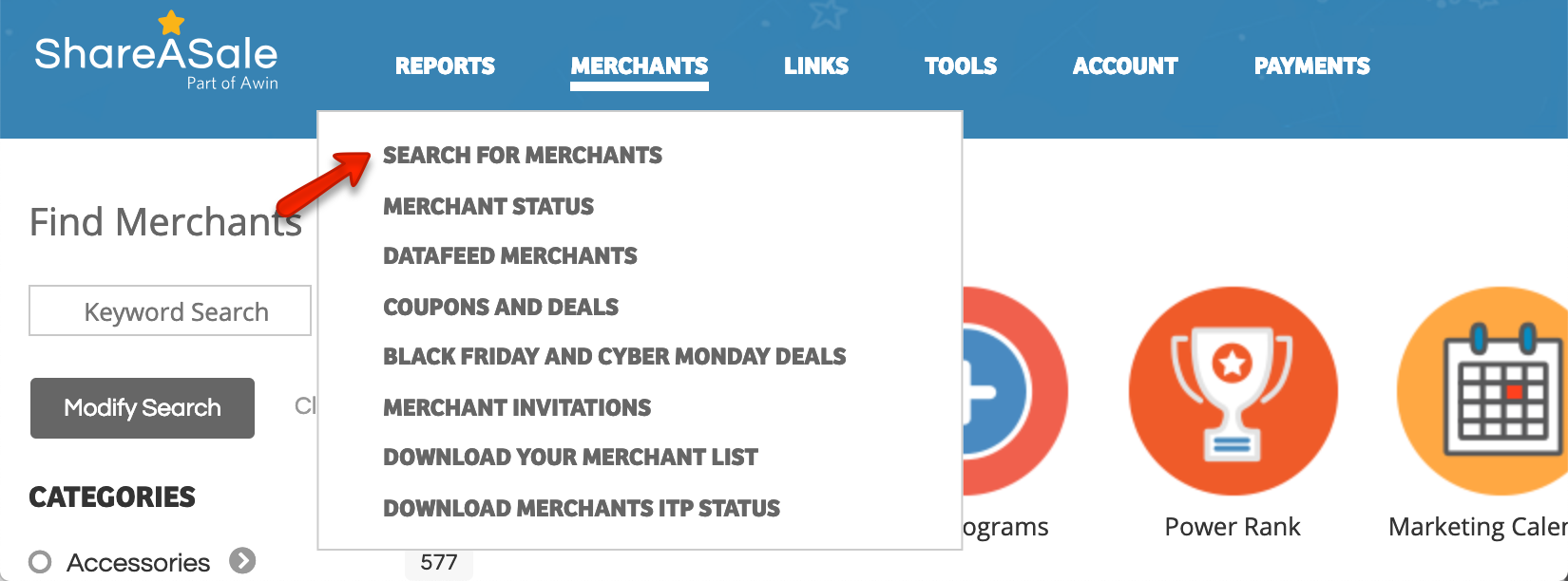Come trovare un prodotto in Shareasale da promuovere sul tuo blog