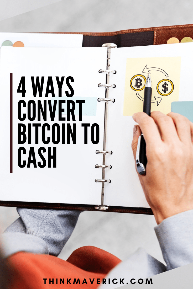 can bitcoin be converted to cash