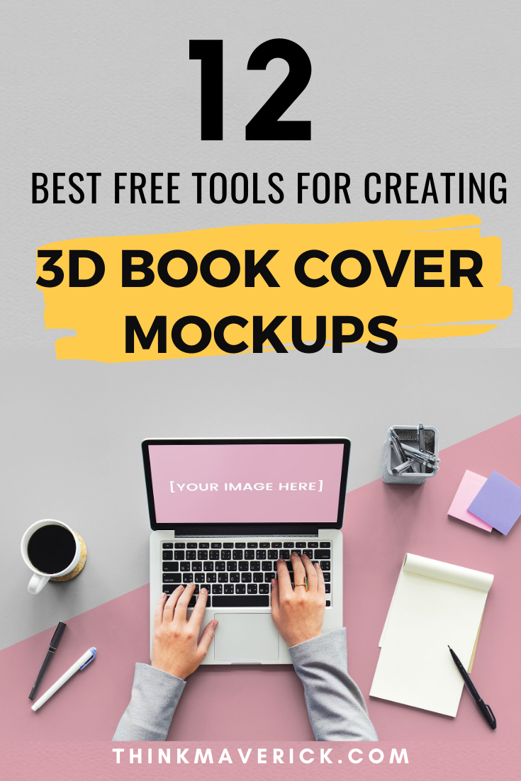 Download 12 Best Free Tools For Making A 3d Book Cover Online PSD Mockup Templates