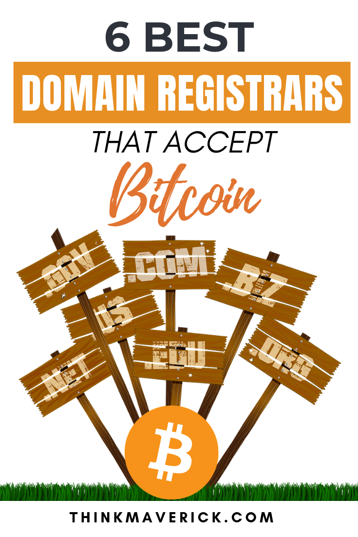 Domain registrars that accept bitcoins bbc sports personality betting 2021 election