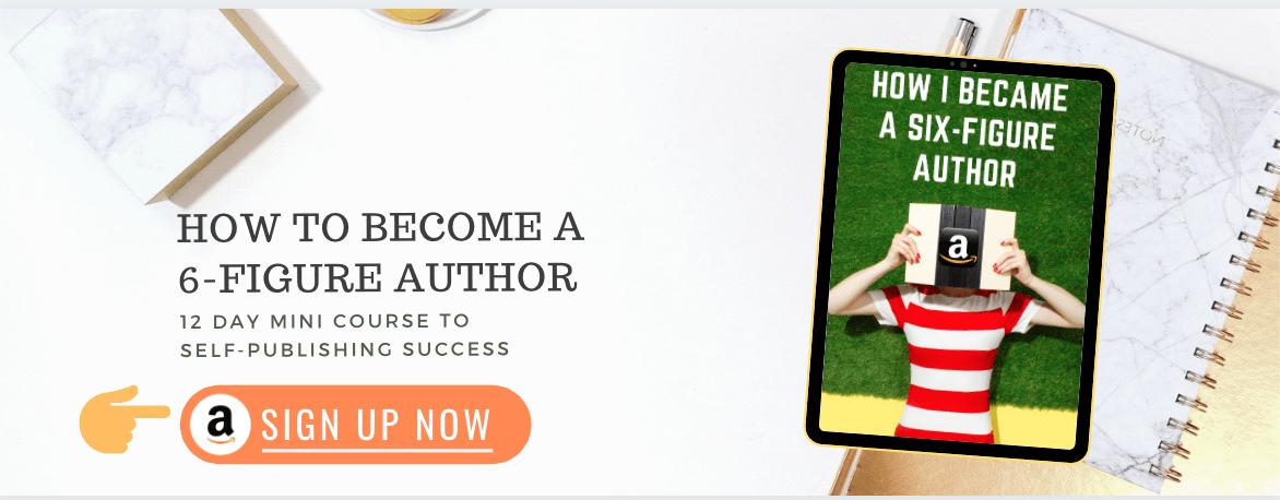 How to become a six-figure author. thinkmaverick