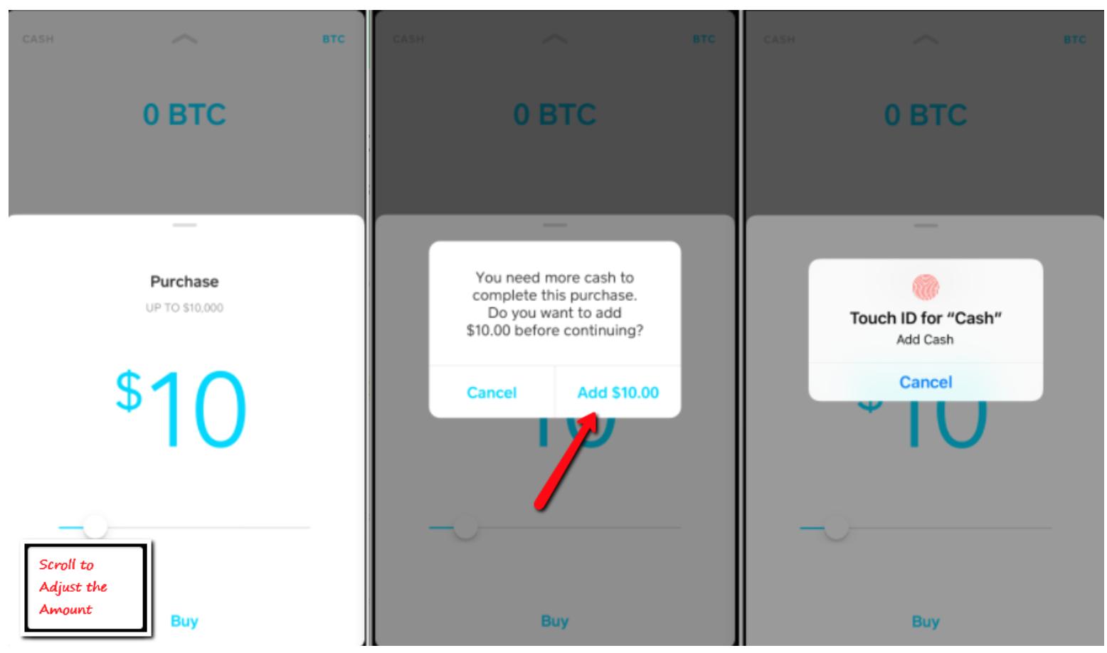 Sell bitcoin on cash app