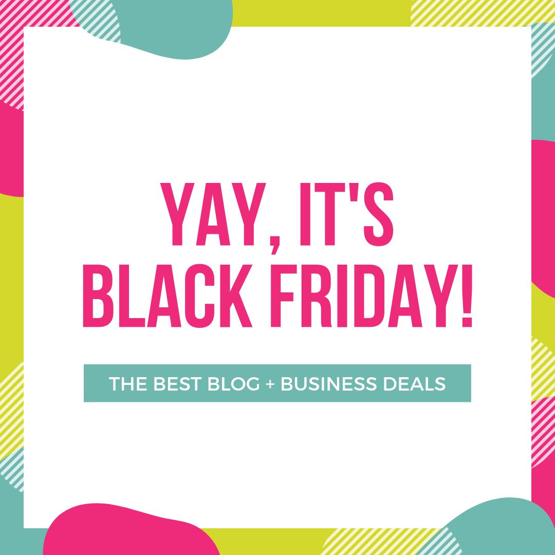 10 Best Black Friday Deals For Bloggers 2020 Exclusive Thinkmaverick My Personal Journey Through Entrepreneurship